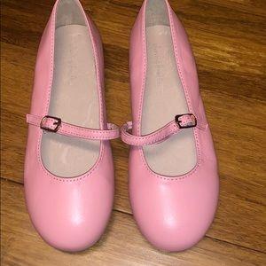 NWOT Chasing Fireflies Girls Pink Ballet Flat 1